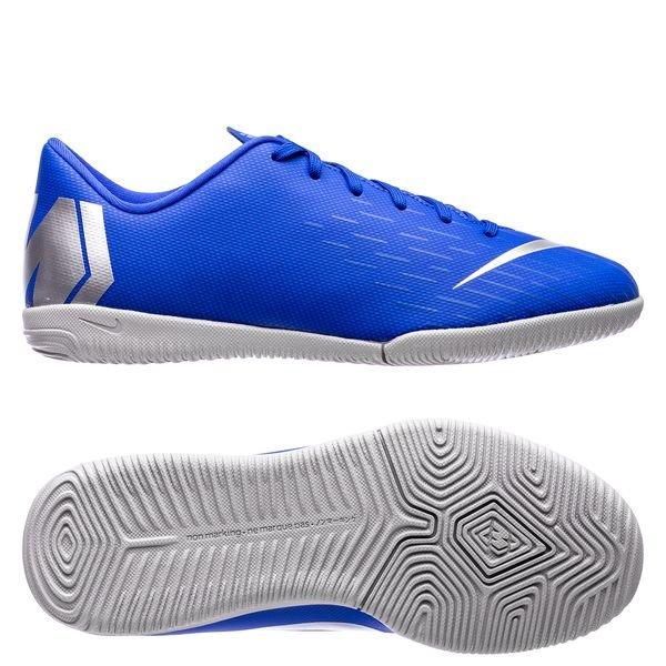 ecc8b6531a9 54.95 EUR. Price is incl. 19% VAT. -40%. Nike Mercurial VaporX 12 Academy IC  Always Forward - Racer Blue Metallic Silver Kids