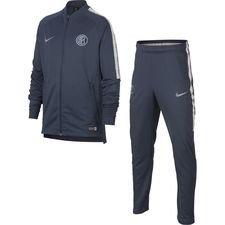 Inter Trainingspak Dry Squad Knit - Donker Blauw/Donkergrijs