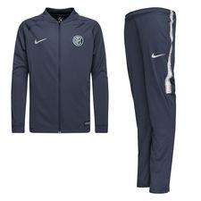 46ccae2473a Inter Milan Survêtement Dry Squad Knit - Bleu Gris Enfant