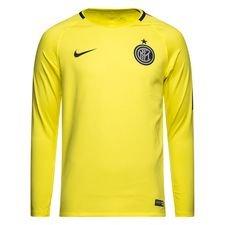 Inter Tränings T-Shirt Dry Squad GX - Gul/Blå L/Ä