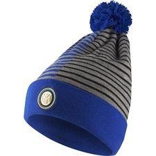 inter hue knit - blå/hvid - huer