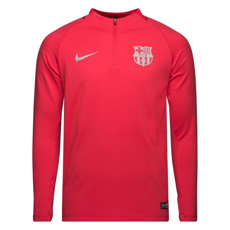 barcelona training shirt dry squad drill - tropical pink - training tops ... cf7adaf11