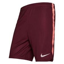 Barcelona Shorts Dry Squad - Bordeaux/Orange