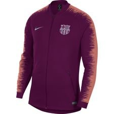 Barcelona Träningsjacka Anthem - Bordeaux/Orange