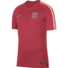 Barcelona Tränings T-Shirt Breathe Squad - Rosa Barn