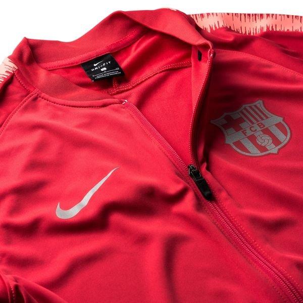 Barcelona Trainingsanzug Dry Squad Knit PinkRot Kinder