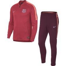 Barcelona Träningsoverall Dry Squad Knit - Rosa/Bordeaux Barn