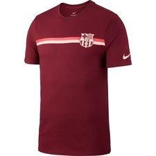 Barcelona T-Shirt Crest - Bordeaux