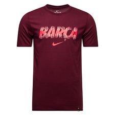 Barcelona T-Shirt Preseason Dry - Bordeaux Barn