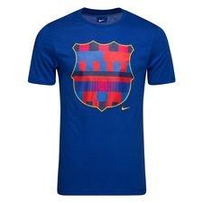 Barcelona T-Shirt Logo - Navy