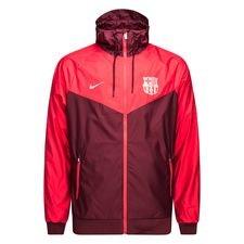 barcelona windrunner woven authentic - bordeaux/pink - jakker