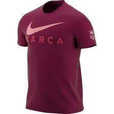 Barcelona T-Shirt Swoosh - Bordeaux
