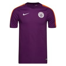 Manchester City Trainingsshirt Breathe Squad - Paars/Oranje Kinderen