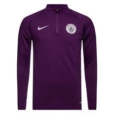 Manchester City Trainingsshirt Dry Squad Drill - Paars/Oranje Kinderen