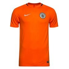 Manchester City Tränings T-Shirt Dry Squad GX - Orange/Lila