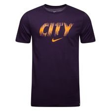 Manchester City T-Shirt Preseason Dry - Lila