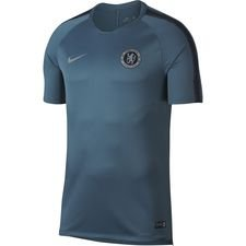 Chelsea Tränings T-Shirt Breathe Squad - Grön/Navy