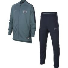Chelsea Trainingspak Dry Squad Knit - Groen/Navy Kinderen