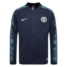 Chelsea Trainingsjas Anthem - Navy/Groen Kinderen