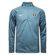 Chelsea Träningströja Shield Squad 1/4 Blixtlås - Navy