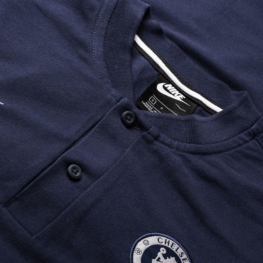 Chelsea Polo Authentic Grand Slam ObsidianMetallic Silver