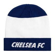 Chelsea Mössa Dry Knit - Vit/Blå