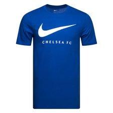 Chelsea T-Shirt Swoosh - Blå