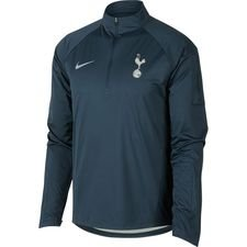 tottenham trainingsshirt shield squad kwartrits - blauw/groen - trainingsshirts