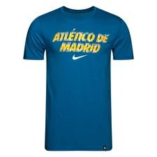 Atletico Madrid T-Shirt Preseason Dry - Blå