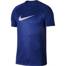 nike trænings t-shirt dry academy gx 2 always forward - navy/grå - træningstrøjer
