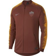 roma træningsjakke anthem - brun/guld - træningsjakke