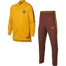 Roma Träningsoverall Dry Squad Knit - Guld/Brun Barn