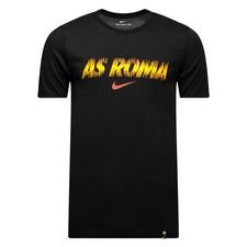 roma t-shirt preseason dry - sort børn - t-shirts
