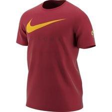 Roma T-Shirt Swoosh - Röd