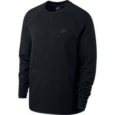 nike sweatshirt nsw tech fleece - sort - sweatshirts