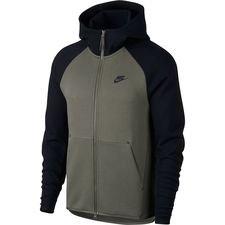 Nike Hoodie NSW Tech Fleece – Groen/Zwart