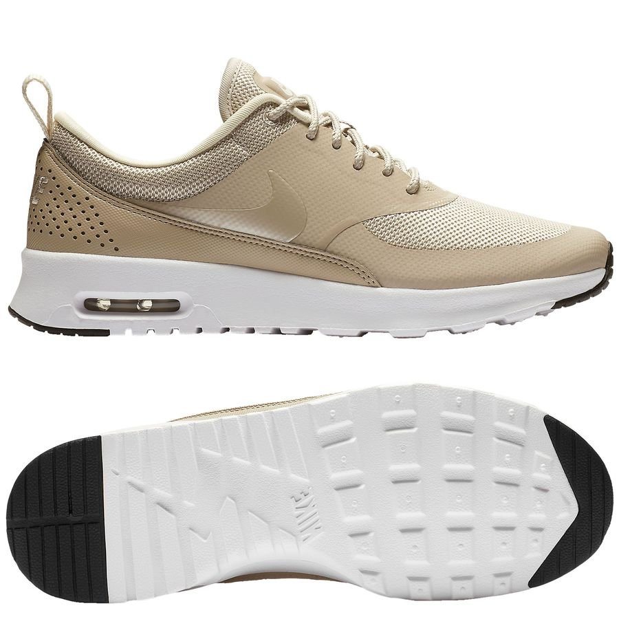 the best attitude 5c4be 7a5cc nike air max thea - beigeblanc femme - sneakers ...