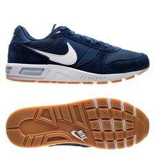 nike nightgazer - navy/hvid - sneakers