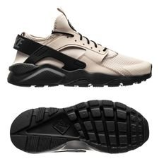 nike air huarache run ultra - beige/sort - sneakers