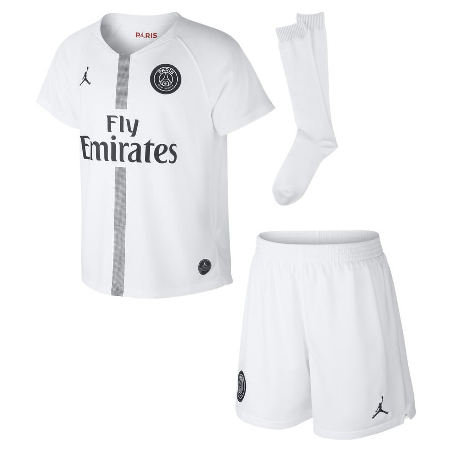 b4c477e12 paris saint germain away shirt jordan x psg chl 2018 19 mini-kit kids ...