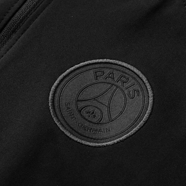 82b8b3298fa650 Paris Saint Germain Tracksuit Dry Squad CHL Jordan x PSG - Black Grey Kids
