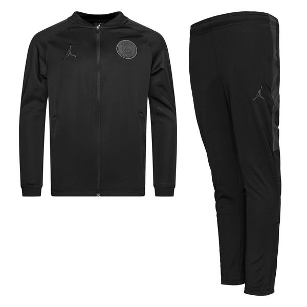 e9304bf6768347 99.95 EUR. Price is incl. 19% VAT. Paris Saint Germain Tracksuit Dry Squad  CHL Jordan x PSG - Black Grey Kids