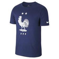 France T-Shirt Gagnant 2 Étoiles - Bleu Marine