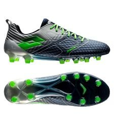 lotto maestro 200 fg - blå/grøn/sølv - fodboldstøvler