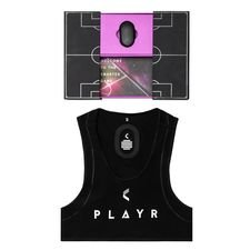 playr gps tracker smartvest + smartpod - black/white - training equipment