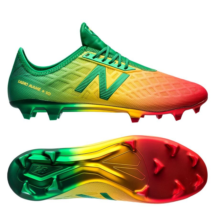 93ea3ce5348c1 New Balance Furon 4.0 Pro Mané FG - Red/Yellow/Green LIMITED EDITION Image
