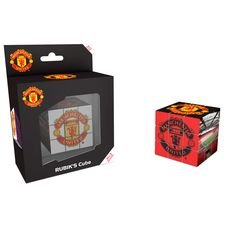 Speed Cube Manchester United Rubiks Kub - Svart
