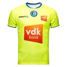 KAA Gent udebanetrøje til sæsonen 2018/19. Fremstillet i 100% polyester.