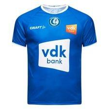 KAA Gent hjemmebanetrøje til sæsonen 2018/19. Fremstillet i 100% polyester.