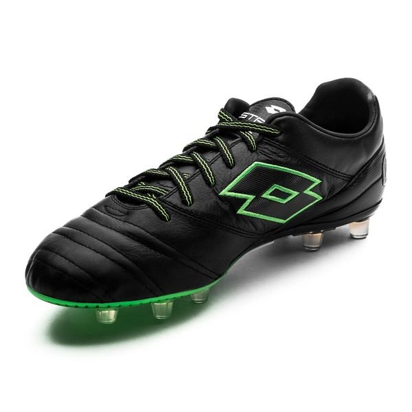 size 40 cb618 899ff Lotto Stadio 45 FG - Black Green